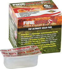 Bushcraft Bus336A FireDragon Solid Waterproof Fuel 6Pk Cubes 8 Minute Burn Time