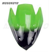 For Kawasaki Z1000 Z 1000 2010-2013 2011 2012 Green Windscreen Windshield Screen
