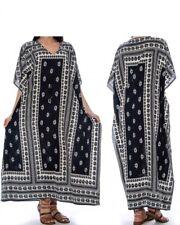 Casual Kaftan Dresses for Women African Long Beach wear moomoo One Size Plus
