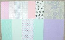 12 x A5 Sheets Assorted Patterned Card 250/300gsm NEW
