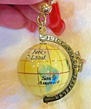Charm, Extremely Hard To Find! Juicy Couture World Traveler Globe