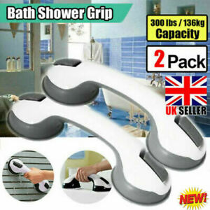2PCS Non-Slip Safety Handrails Bathroom Suction Cup Handrail Safety Accessories