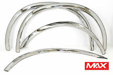 FTFD216 1999-2007 Ford F-250 F-350 SD Super Duty CREASE Stainless Fender Trim