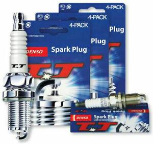 DENSO TWIN TIP TT SPARK PLUGS CITROEN CX2400 PALLAS 2.4L M23622 X 4