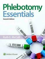 Phlebotomy Essentials 7th Edition PAPERBACK by Ruth McCall