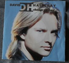 David Hallyday, change of heart / move, SP - 45 tours