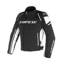 Giacca moto Dainese Racing 3 Dry black white nero bianco taglia 48 jacket 948