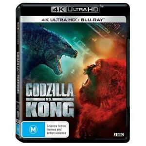 Godzilla vs Kong 4K Ultra HD + Blu-ray BRAND NEW Region B