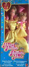 Barbie Mattel The Heart Family Vintage 85'