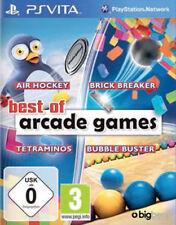 Sony Playstation Vita PSV PSVita Spiel ***** Best of Arcade Games *******NEU*NEW