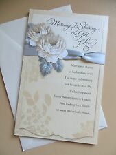 "American Greetings Card sharing the gift of Love ""Wedding Congratulations"""