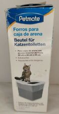 Petmate Top Entry Litter Pan Liners Heavy Duty Tear Resistant up to 20 x 15 x 15