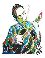 Django Reinhardt Minor Swing Guitar Jazz Music Print Poster Wall Art 8.5x11