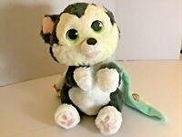 """Disney Babies 10"""" plush Stuffed cat Figaro From Pinocchio with Pouch Blanket"""