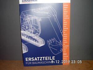 KRAEMER ERSATZTEILE PROGRAMM 24 SEITEN  PROSPEKT/BROSCHÜRE NEU & RAR
