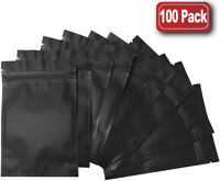 Assorted Sizes Matte Gold Thick Rice Paper Foil Mylar Open Top Pouch Bag G23