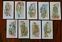 VOTARIES OF THE WEED 1916, GALLAHER CIGARETTE CARDS, PICK THE CARDS YOU REQUIRE
