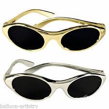 12 Varios Hollywood Party Oro Plata Oval Gafas De Sol Gafas botín favorece