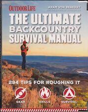 VON BENEDIKT BOOK THE ULTIMATE BACKCOUNTRY SURVIVAL MANUAL paperback BARGAIN new