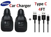 OEM USB-C Type C Fast Car Charger For Samsung Galaxy S8 S9 S10 Plus Note 8 9
