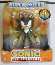 "Sonic the Hedgehog Action Figure Shadow The Hedgehog 6"" Super Posers Jazwares"