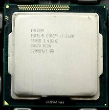 Lot (3) Intel i7-2600 2nd Gen. (SR00B) 4-Core, 3.4GHz, 8MB, LGA1155 CPU