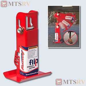 """Fastway 6"""" Flip Foot for 2-1/4"""" Post - Automatic Up and Down Jack Extension Foot"""