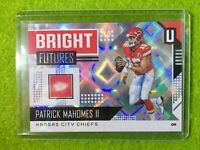 PATRICK MAHOMES PRIZM CARD REFRACTOR CHIEFS SP  2018 Unparalleled Bright Futures