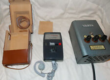H-Electronic Geigerzähler Strahlungsmessgerät 60er Jahre mr/h Varta Ladegerät