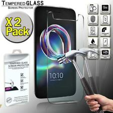 2 Pack Real Tempered Glass Screen Protector Cover For Alcatel Idol 5
