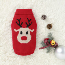 Pet Costume Dog Cat Clothes Puppy Costumes Knitwear Christmas Reindeer