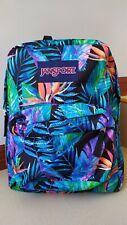 SALE! JANSPORT #SuperBreak Vivid Paradise Backpack in Medium Size