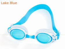 New listing Kids Child Adjustable Anti-fog Swimming Goggles Glasses Uv Protection Lake Blue