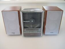Sony CMT-EX100 Micro HI-FI Component Speaker Stereo System Vertical Disc Player
