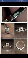 HEART SHAPED DIAMOND PROMISE RING