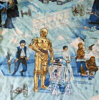 Vintage 1979 Star Wars Empire Strikes Back Twin Sheet (1) Fitted