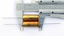 4pcs 1000uF 25V ROE Roederstein EB Hi End axial electrolytic capacitor
