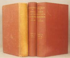 SUPPLEMENT TO HAIN'S REPERTORIUM BIBLIOGRAPHICUM 3 Vol Set COPINGER Hain