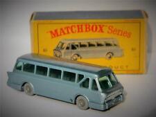 VINTAGE LESNEY MATCHBOX LEYLAND TIGER COACH NM IN TYPE D BOX 40b 1961 RARE GPW