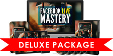Facebook Live Mastery Video Course Just Released Feb 2021 -- NO CDs - L@@K