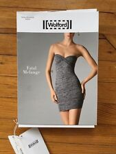 Wolford NWT Fatal Melange Dress. Size XS. Dark Grey Retail $275