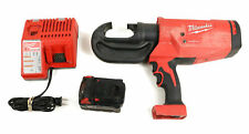 Milwaukee Forcelogic M18 12T Utility Crimper Model: 2778-20 w Battery & Charger