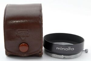 [EXC+5] Minolta D42KA 42mm Metal Lens Hood Shade for Rangefinder From JAPAN #380