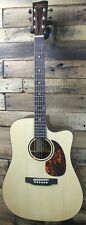 Recording King Rd-G6-Cfe5 Solid Dreadnought Acou-Elec Guitar -Crack #R2679