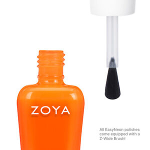 Zoya Nail Polish Easy Neon Oakley ZP1086 Summer 2021. Full Size. Wide Brush.
