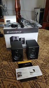 Audioengine A2+ Premium Powered Speakers, + Bluetooth - Satin Black NEAR MINT!