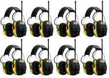 (8) PELTOR WORKTUNES Digital AM FM MP3 Radio HEADPHONES Hearing Ear PROTECTION