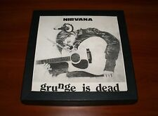 """NIRVANA GRUNGE IS DEAD 12"""" BOX 6x CD T-SHIRT POSTER *LTD 500 COPIES Bonus 4x DVD"""