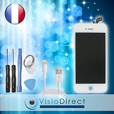Vitre tactile ecran LCD sur chassis pour iPhone 5 blanc +cable USB pour iPhone 5