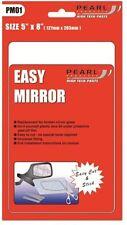 Espejo de fácil Adhesiva Universal Hoja de Acrílico 5 X 8 in (approx. 20.32 cm) PM01 aprobado Mot